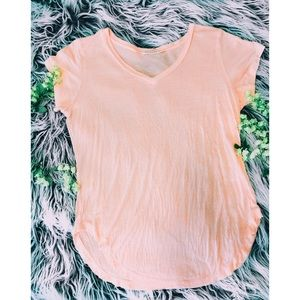 Lose-fit Pink T-Shirt